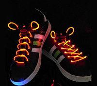 Шнурки со светодиодной подсветкой Platube (Желтый)