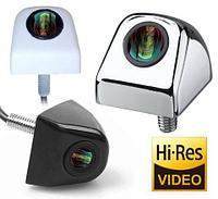 Видеокамера заднего обзора высокого разрешения универсальная E366 (Белый)