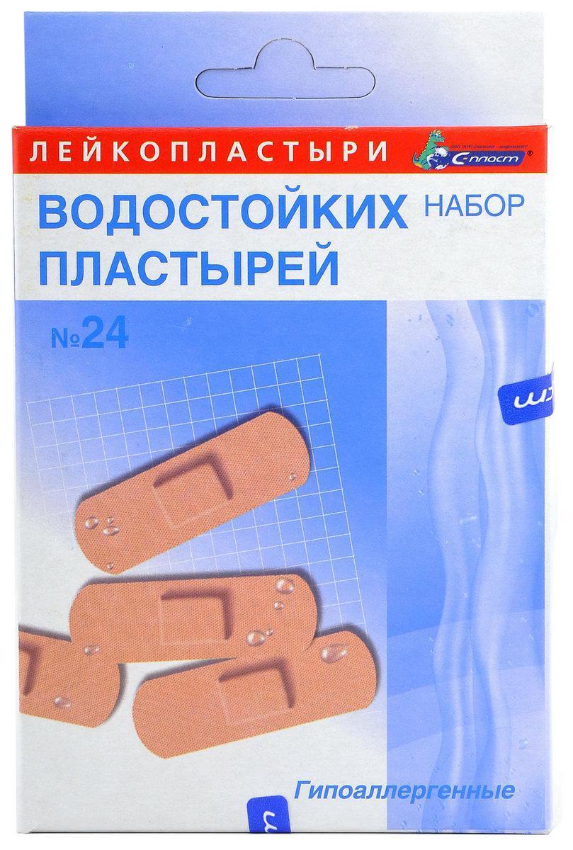 """Лейкопластырь бактерицидный Набор """"Водостойких пластырей №24"""""""
