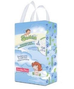 Sachiko подгузники упаковка L size (54шт), фото 2
