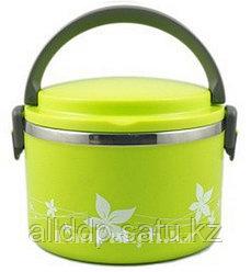 Ланч бокс 1,0 л (Aying combined lunch box) зеленый, ланч бокс для еды