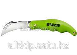 Складной садовый нож с изогнутым лезвием 170 мм 79011 Palisad (002)