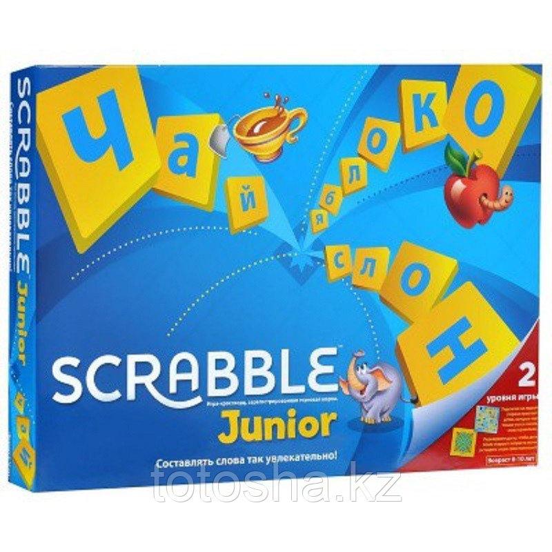 Настольная игра Scrabble Junior Скраббл Джуниор Mattel
