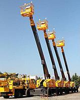 Аренда Телескопического подъёмника самоходного 38 метров JUNJIN T-380N