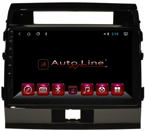 ANDROID 8.1.0 Toyota Land Cruiser 200 глянец 2008-2015г. HD ЭКРАН 1024-600 ПРОЦЕССОР 4 ЯДРА (QUAD CORE), фото 2