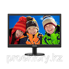 "Монитор 18.5"" PHILIPS 193V5LSB2/62 Чёрный"