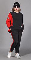 Спортивная одежда Сч@стье-7028р-3, черный+красный, 54