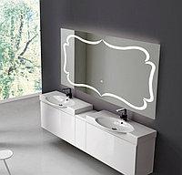 Зеркало настенное с LED подсветкой