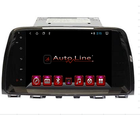 ANDROID 8.1.0 Mazda 6 2006г. HD ЭКРАН 1024-600 ПРОЦЕССОР 4 ЯДРА (QUAD CORE)