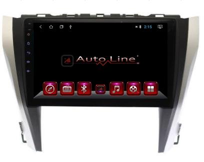 Автомагнитола AutoLine Toyota Camry 55 HD ЭКРАН 1024-600 ПРОЦЕССОР 8 ЯДЕР (OCTA CORE), фото 2