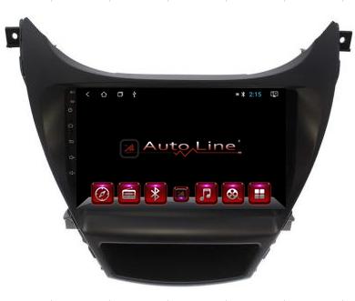 Автомагнитола AutoLine Hyundai Elantra 2013-2015 8-ядерный (OCTA CORE)