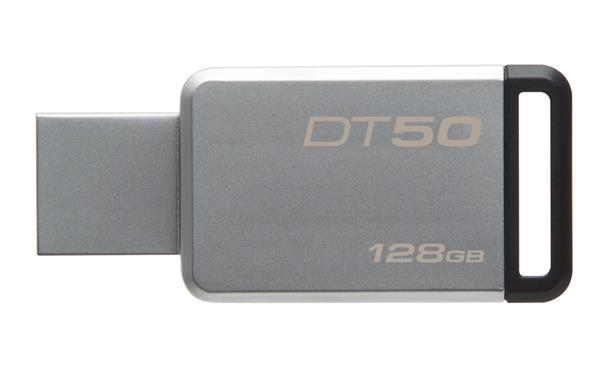 USB Флеш 128GB 3.0 Kingston DT50/128GB металл, фото 2