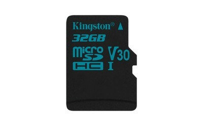 Карта памяти MicroSD 32GB Class 10 U3 Kingston SDCG2/32GBSP, фото 2