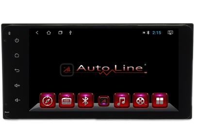 Автомагнитола AutoLine Toyota Universal ПРОЦЕССОР 4 ЯДРА (QUAD CORE), фото 2