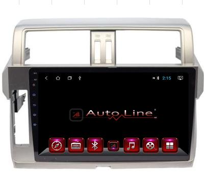 Автомагнитола AutoLine Toyota Prado 155 2014-2015 ПРОЦЕССОР 8 ЯДЕР (OCTA CORE)