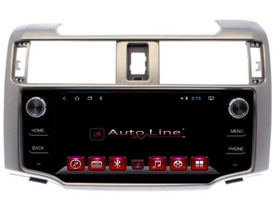 Автомагнитола AutoLine Toyota 4Runner 2009-2018 ПРОЦЕССОР 4 ЯДРА (QUAD CORE)