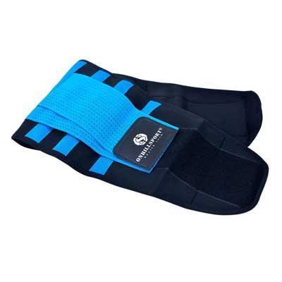 Пояса-корсеты для поддержки спины синие