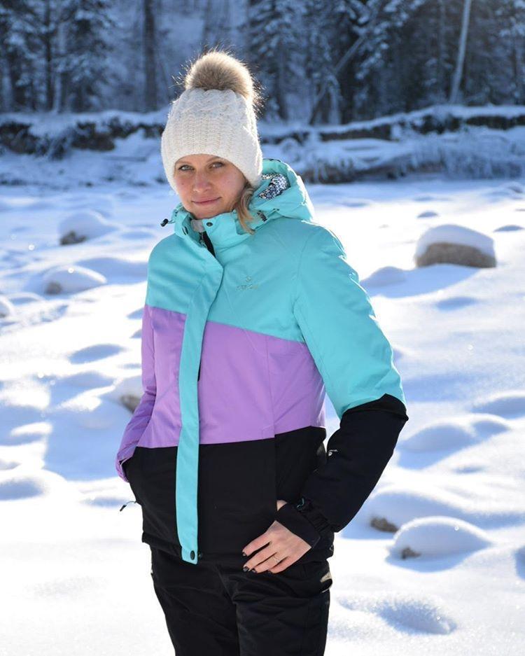 Лыжный женский костюм
