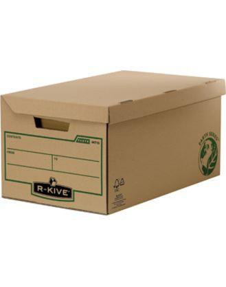 «Архивный короб большой с крышкой, R-Kive® Earth Series, 325x260x535 мм, картон, крафт»  , фото 2