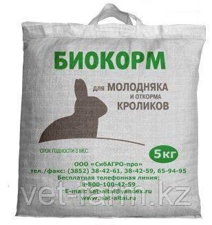 Биокорм стандарт для кроликов 5кг