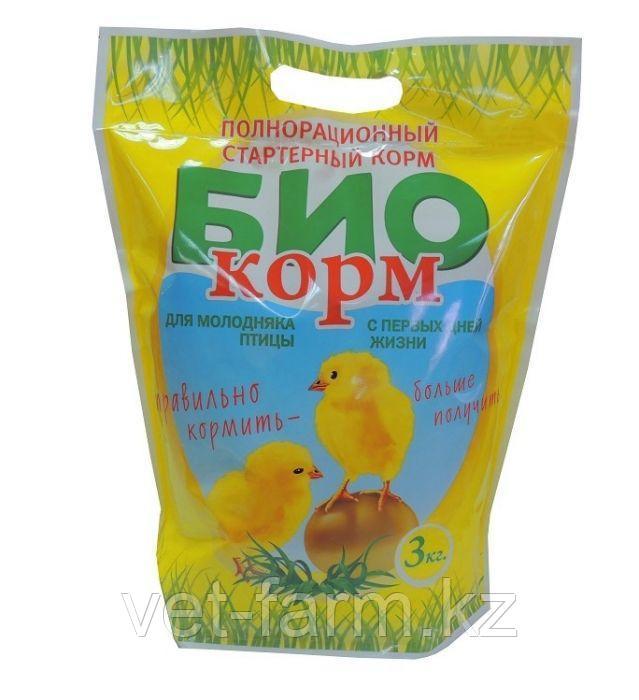 Биокорм для цыплят 3 кг