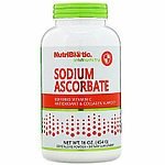 NutriBiotic, Immunity, Sodium Ascorbate, Crystalline Powder, 16 oz (454 g)
