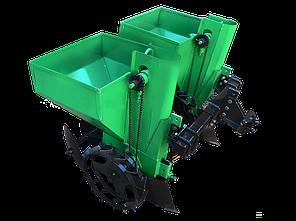 Картофелесажалка двухрядная Володар КСН-90 (1т) (90 л для мототрактора и мотоблоков) , фото 2