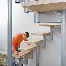 Проектирование, монтаж и реставрация лестниц
