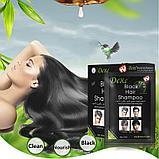 Красящий шампунь для седых волос Dexe Black Hair Shampoo, фото 2