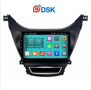 Автомагнитола DSK Hyundai Elantra 2014-2016 IPS ANDROID, фото 2