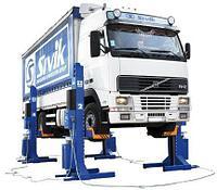 Подъемник гаражный передвижной ПГП-24000 для грузового транспорта