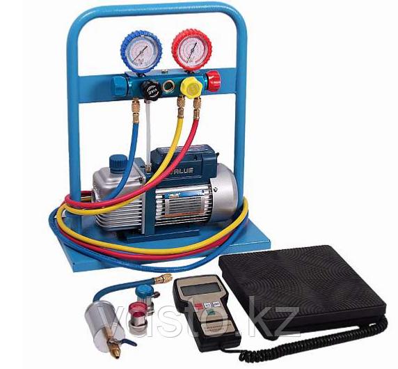 Комплект для заправки кондиционеров AC-2014 compact