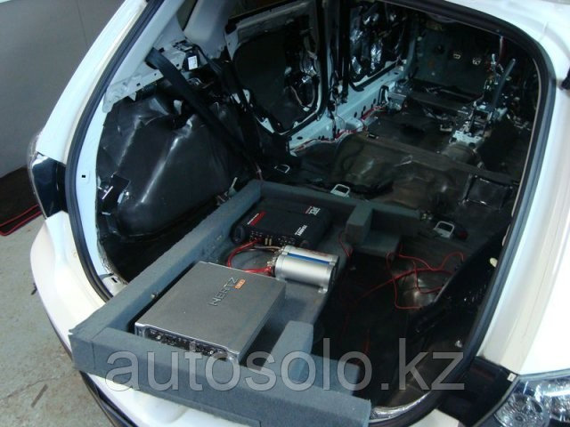 Шумоизоляция автомобиля в Алматы  (багажник + двери)