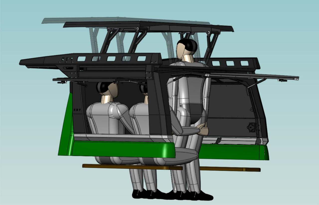 Каркас грузовой многофункциональный - УАЗ Патриот (комплектация 8)