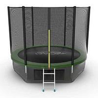 Батут EVO Jump External 10ft + Lower net (Зеленый)