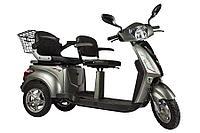 Электроскутер Volteko Trike L New (Серый)