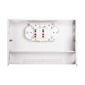 Кросс оптический 2U SC/APC 48 PORT SM (в комплекте 48 адаптеров+48 пигтейлов+48 гильз), фото 2