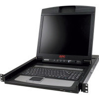 "ЖК консоль AP5816 APC 17"" Rack LCD Console with Integrated 16 Port Analog KVM Switch."