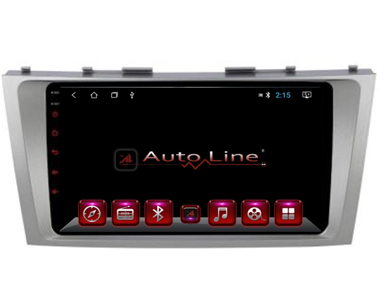 Автомагнитола AutoLine Toyota Camry 40/45 Grey Edition ПРОЦЕССОР 8 ЯДЕР (OCTA CORE)