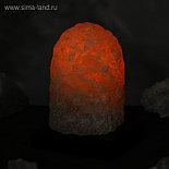 """Соляная лампа """"Гора"""" цельный кристалл, 18 см × 13,5 см × 13,5 см, 1-2 кг, фото 2"""