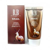 Ekel Snail BB Cream SPF 50+ PA+++ Улиточный ББ крем 50мл.