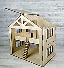 Кукольный домик с гаражом, фото 3