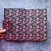 Ежедневник недатированный В6, 160 листов Florence, искусственная кожа, цветной срез, фиолетовый, фото 2