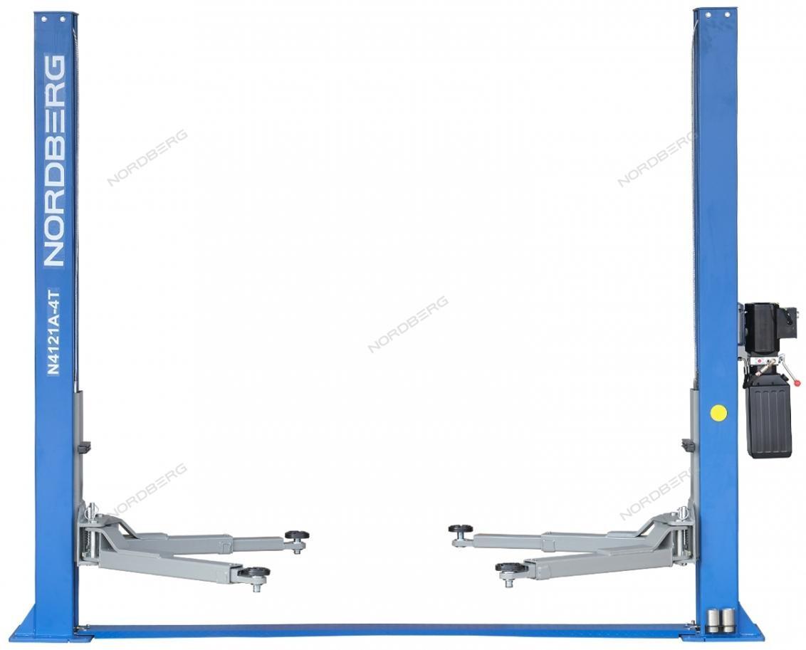 (NORDBERG) ПОДЪЕМНИК N4121A-4T_380V 2х стоечный электрогидравлич. 4т, ассиметричный