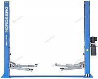 (NORDBERG) ПОДЪЕМНИК N4121A-4T_380V 2х стоечный электрогидравлич. 4т, ассиметричный  , фото 1