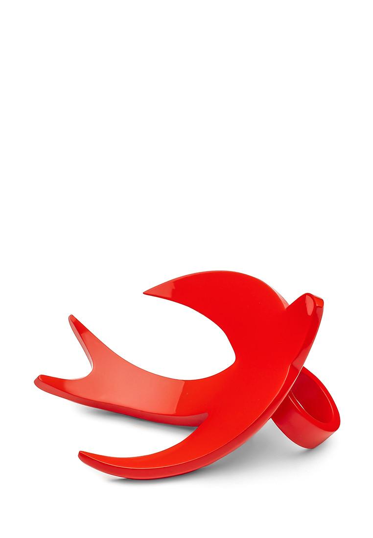 Кольцо Brosh Jewellery  Ласточка ручной работы (акрил, красный)