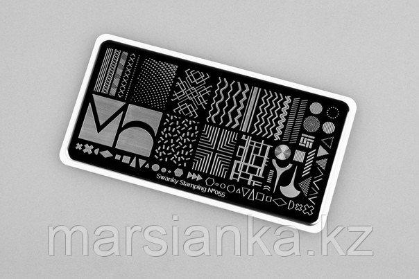 Пластина Swanky Stamping #55