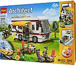 """Конструктор Decool 3117 Architect (аналог лего Lego Creator 31052) """"Кемпинг 3 в 1"""" 792 дет, фото 10"""