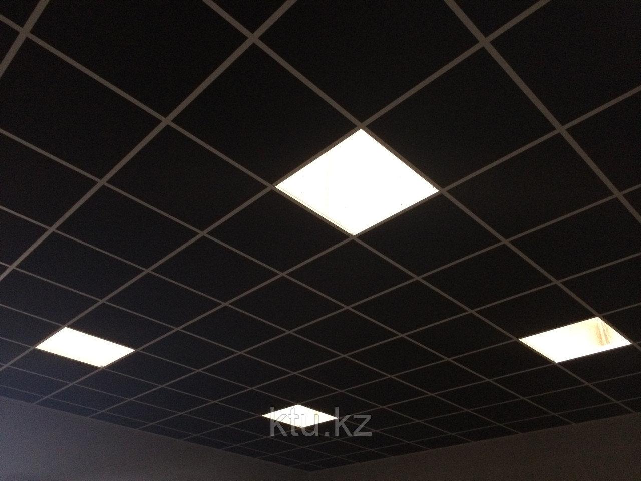 Подвесной потолок Rockfon Industrial Black BF (Черный)