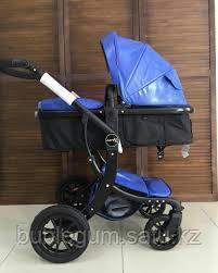 Детская коляска-трансформер 2в1 Aimile Wingoffly (на черной раме), Китай